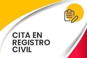 Cita en Registro Civil